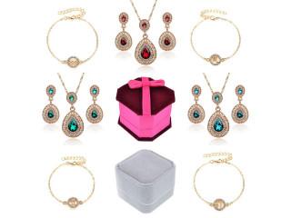 Браслеты со знаками Зодиака, комплекты украшений, коробочки для колец