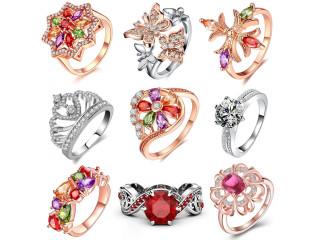 Где купить женские кольца оптом