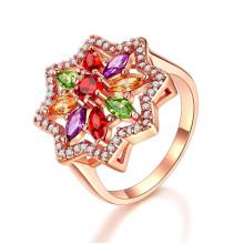 1E0006-1-17 Кольцо с позолотой, размер 17