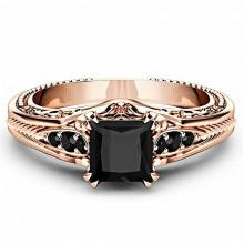 1E0048-1-16 Кольцо с позолотой, размер 16