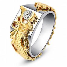 1E0059-1-19 Кольцо Дракон, размер 19