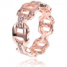 1E0069-1-20 Кольцо с позолотой, размер 20