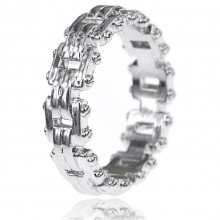 1E0075-1-19 Кольцо Цепь, размер 19