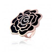 1E0125 Кольцо Цветок безразмерное