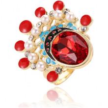 1E0169 Безразмерное кольцо Индеец, 26мм