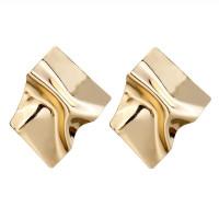 1G0078-1 Серьги Металл, цвет золотой, 70х60х10мм