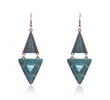 1G0314 Серьги Треугольник