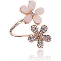 1L0023 Кольцо Цветок