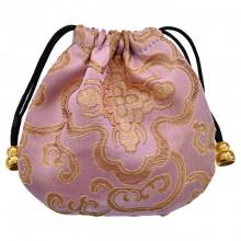MS019-10 Мешочек из парчи 11х11см, цвет фиолетовый
