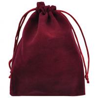 MS027-12x15 Бархатный мешочек 12х15см, цвет бордовый