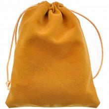 MS032-12x15 Бархатный мешочек 12х15см, цвет жёлтый