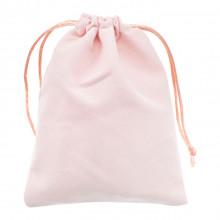 MS033-10x12 Бархатный мешочек 10х12см, цвет розовый