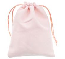 MS033-12x15 Бархатный мешочек 12х15см, цвет розовый