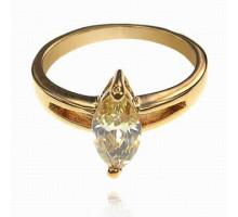 UC100-18 Кольцо с кристаллом Сваровски, размер 18