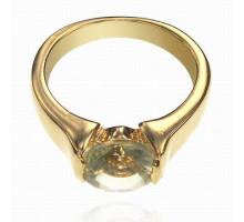 UC107-18 Кольцо с кристаллом Сваровски, размер 18