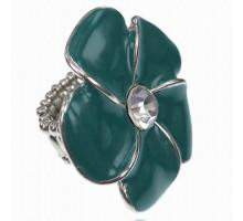 UC147 Безразмерное стрейч-кольцо Цветок