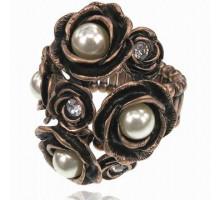 UC150 Безразмерное стрейч-кольцо Цветы