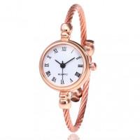 WA046-W Часы - браслет, белый циферблат