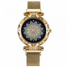 WA070-2 Часы наручные Мандала, цвет золотой
