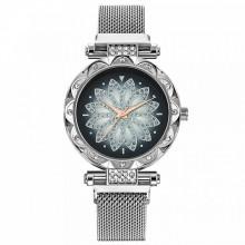 WA070-4 Часы наручные Мандала, цвет серебряный